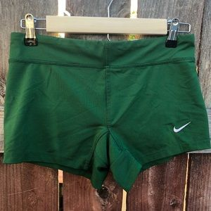 Nike Dri-fit compression shorts size S green